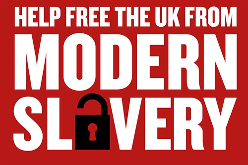 Government Modern Slavery Artwork