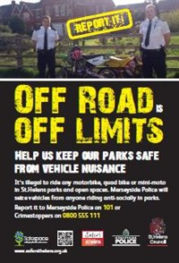 Off-road off limits Poster