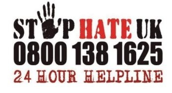 Stop Hate Logo