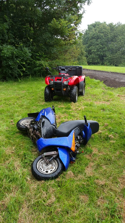 Bike Seizure 24072016 Sankey Valley Brookdale Squad
