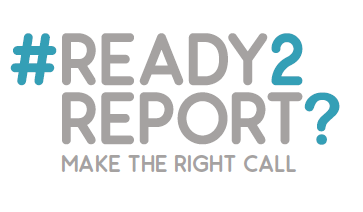 Ready 2Report Logo - Make The Right Call